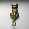 Cat Door Knocker
