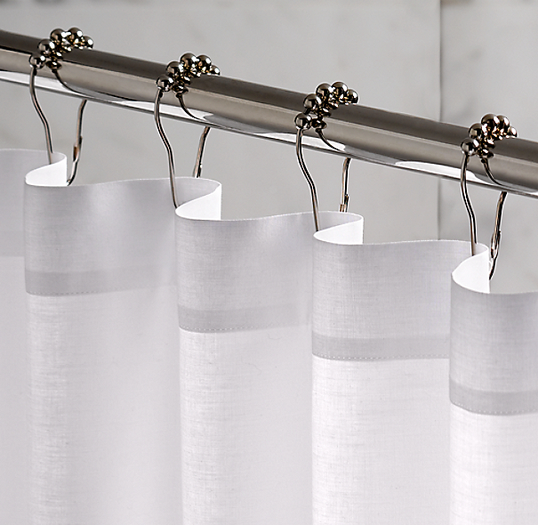 Rollerball Shower Curtain Rings Set Of 12