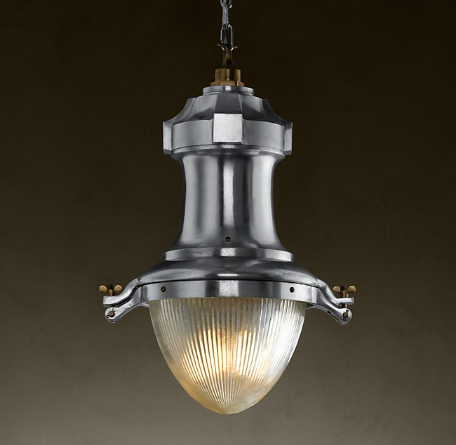 Vintage Streetlight Prism Pendant