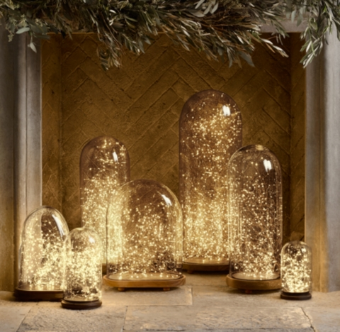 Restoration Hardware Starry String Lights Copper : Starry String Lights - Amber Lights on Copper Wire