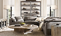 Shop Cloud Leather Sectional