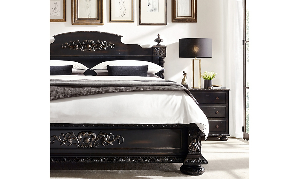 Shop French Empire Panel Bed