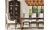 shop Campaign Brown Rectangular Dining
