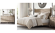 shop Louis XVI Bed & Dresser Smerge