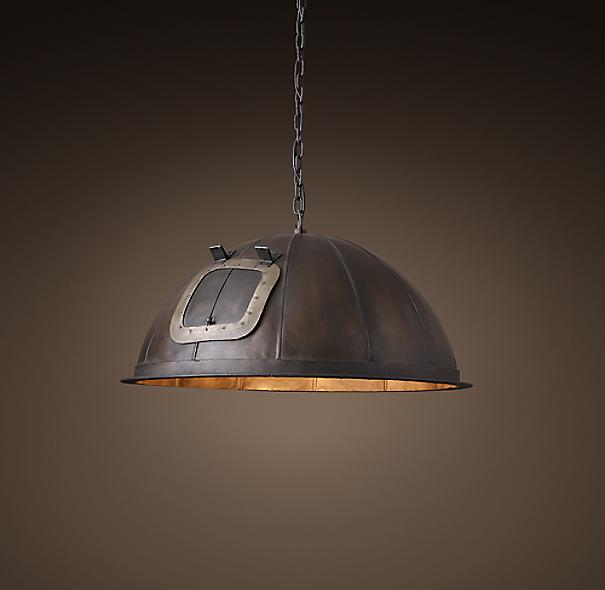 "Restoration Hardware German Light Bulb Bar: 1920s German Light Bulb Voltage Tester 30"" Pendant"