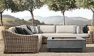 shop Provence Grey L-Sectional