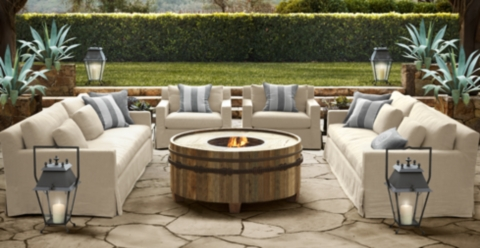 What Iu0027m Loving Now ~ Restoration Hardware Patio Furniture