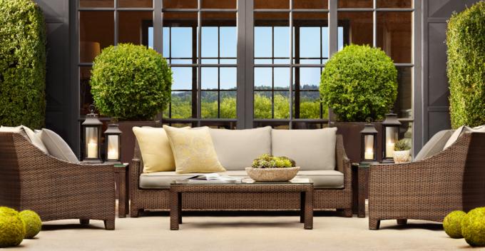 What Iu0027m Loving Now ~ Restoration Hardware Patio Furniture