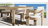 shop Remy Weathered Teak Dining