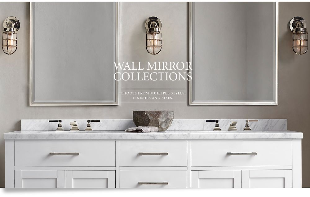 Wall Mirrors Restoration Hardware