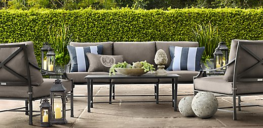 Restoration Hardware Replacement Cushions Patio