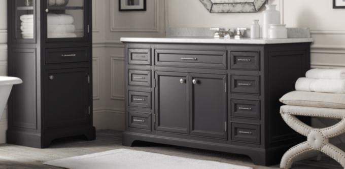 Perfect St James Vanity Sink Traditionalbathroomvanitiesandsinkconsoles