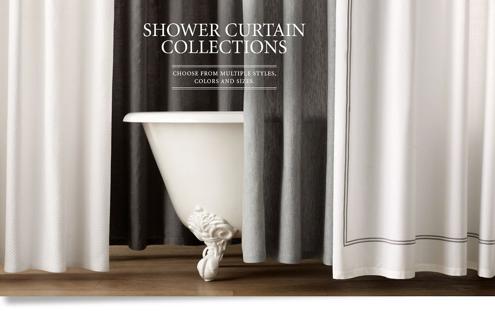 Shower Curtains Restoration Hardware