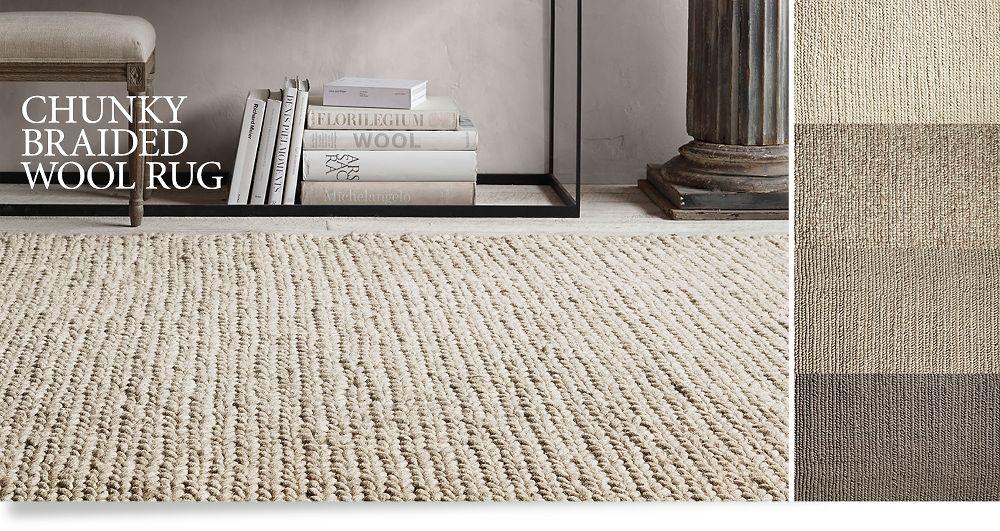 Textured rugs restoration hardware for Restoration hardware rugs on sale