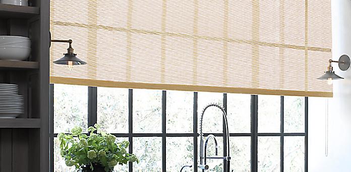 Custom shade collections restoration hardware for Restoration hardware window shades