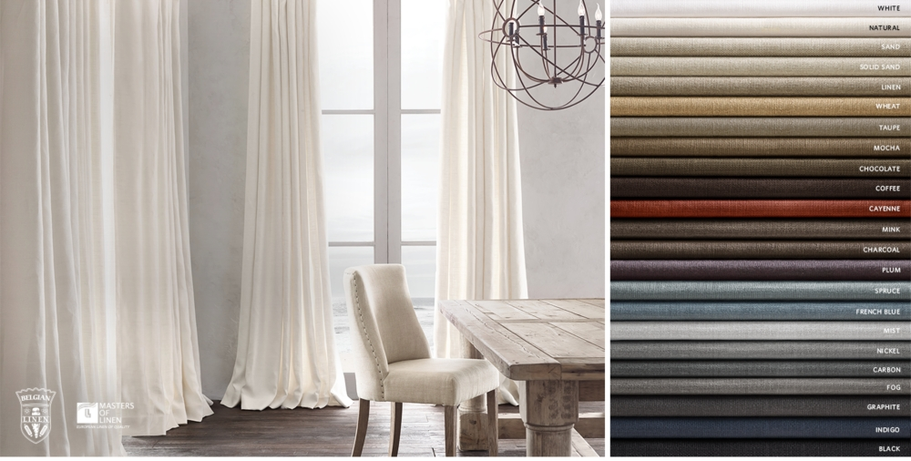 Drapery Collections Restoration Hardware