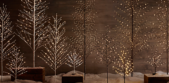 Christmas Tree Decorations Restoration Hardware Holliday Decorations