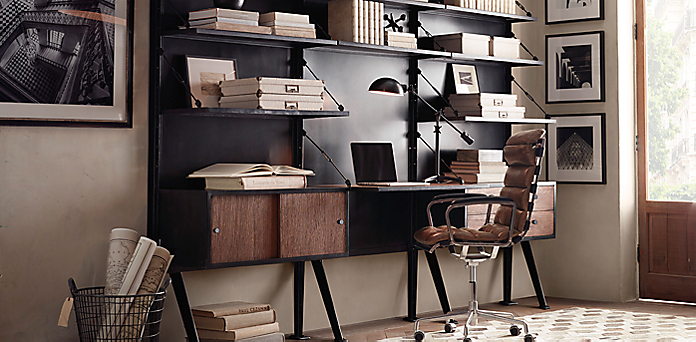 introducing 1950s modular home office collection