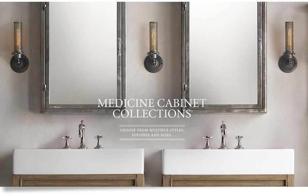 Medicine Cabinets Restoration Hardware