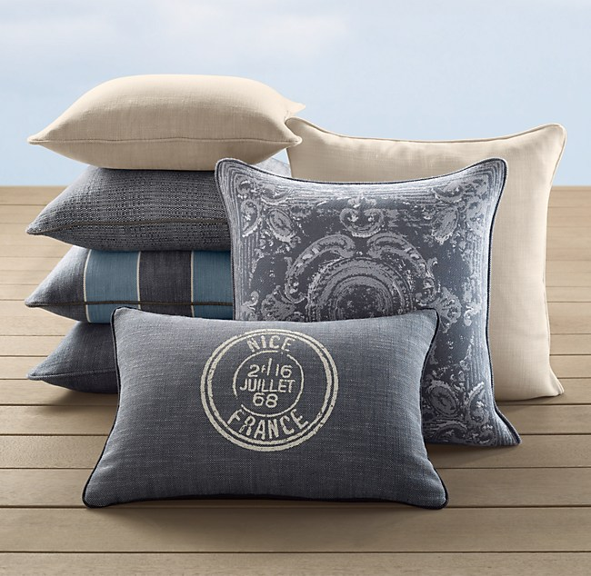 Côte D'Azur Pillow Covers