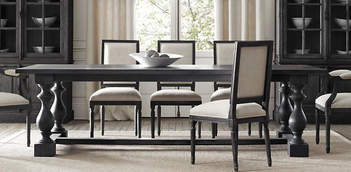 Restoration Hardware Dining Room Tables | Show Home Design