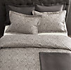 Vintage-Washed Diamond Matelassé Coverlet & Sham