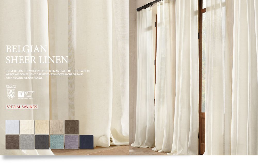 Restoration Hardware Drapes Pin By Kate Barry On For The Home Drapery Drapes Stay At Home