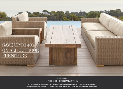 Restoration Hardware Outdoor Furniture