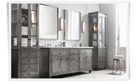 Innovative Vintagestyle Shaving Mirror From Restoration Hardware
