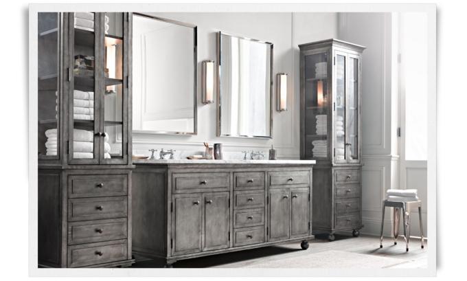 Rooms & New Images Of Restoration Hardware Bathroom Mirrors - Bathroom ... azcodes.com
