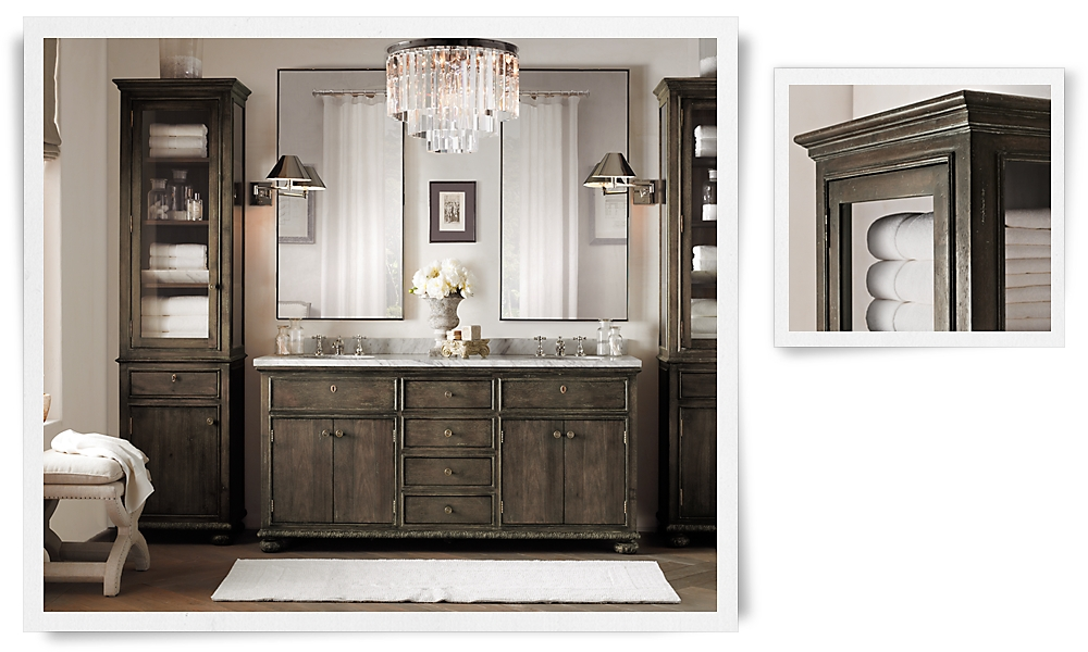 22 fantastic restoration hardware bathroom design Restoration hardware bathroom