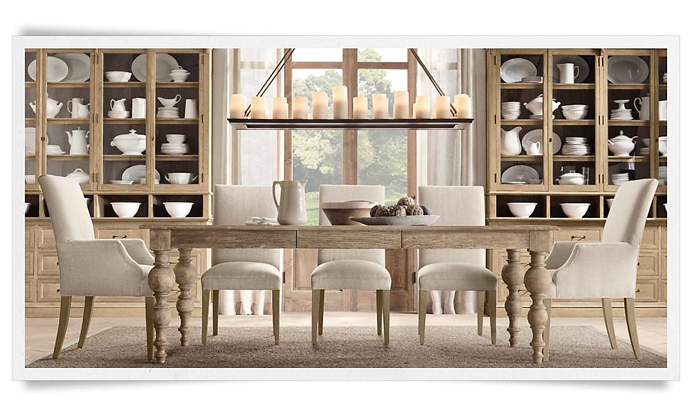 grand baluster table 8 39 natural oak