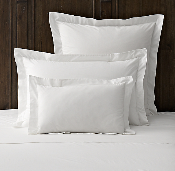 Italian Vintage-Washed 464 Percale Sham