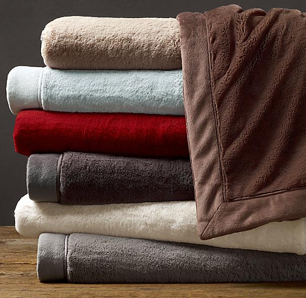 Restoration Hardware Luxe Blanket