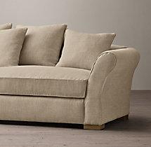 "84"" Camelback Upholstered Sofa"