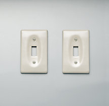 Ceramic Single Switch Plate