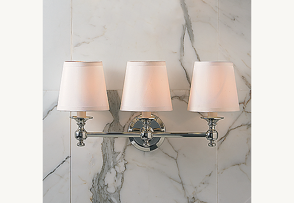 Lugarno Triple Sconce
