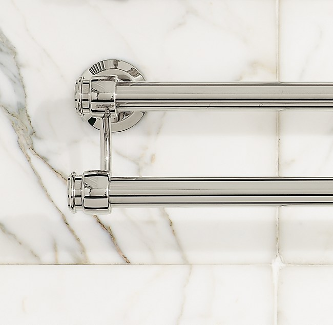 Lugarno Double Towel Bar