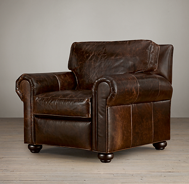 Restoration Hardware Leather Chair: Lancaster Leather Chair