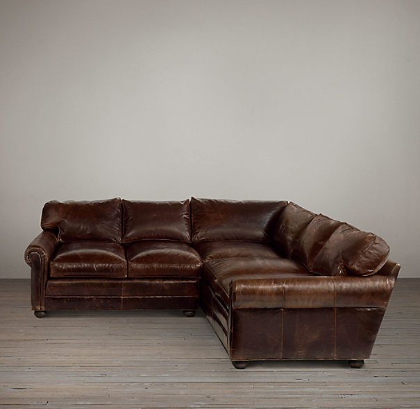 Lancaster Leather Build Your Own Sectional