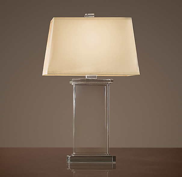 Crystal pier table lamp - Restoration hardware lamps table ...