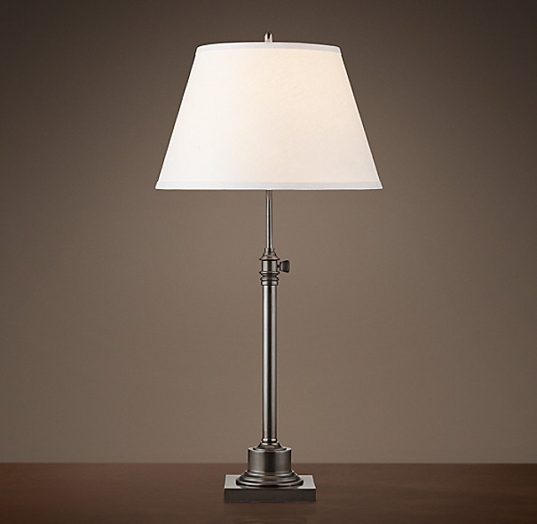 Library Table Lamp Bronze