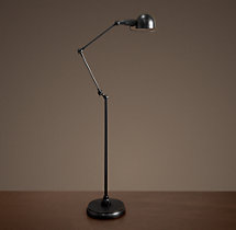 Atelier Task Floor Lamp Bronze