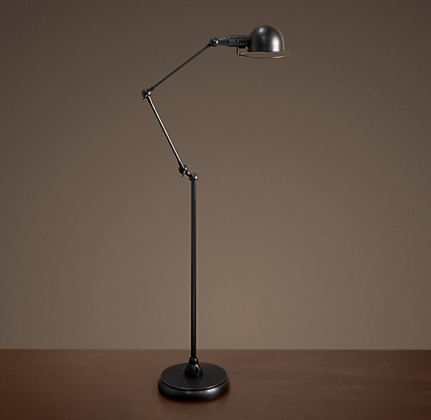 atelier task floor lamp bronze With atelier task floor lamp bronze