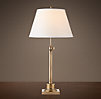Library Table Lamp Antique Brass