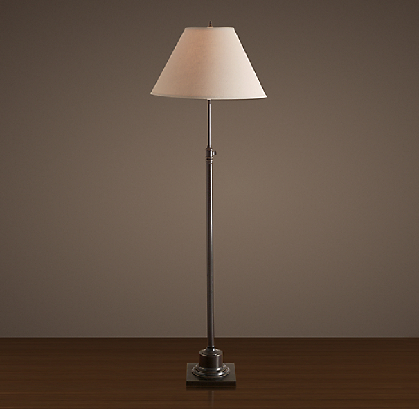 Library Floor Lamp Bronze