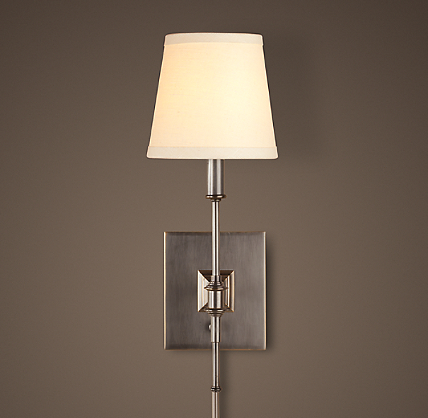 Library Sconce Bronze