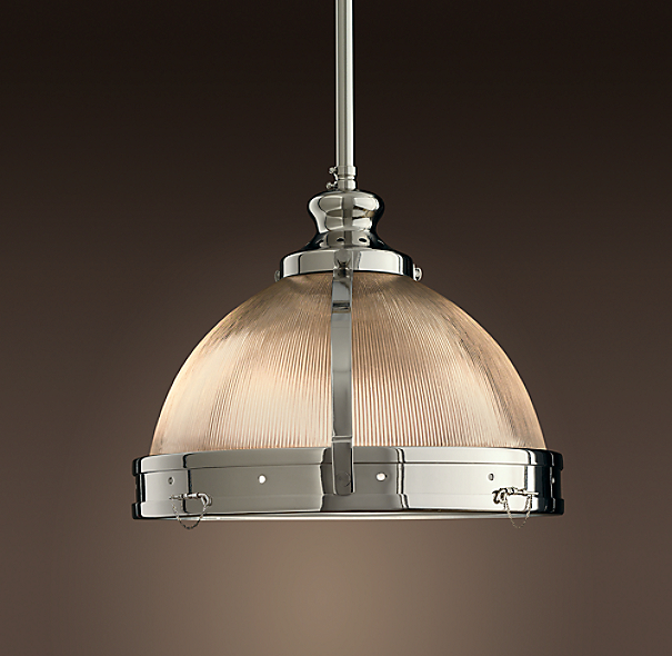 Illuminating Kitchen Lighting: Clemson Prismatic Single Pendant