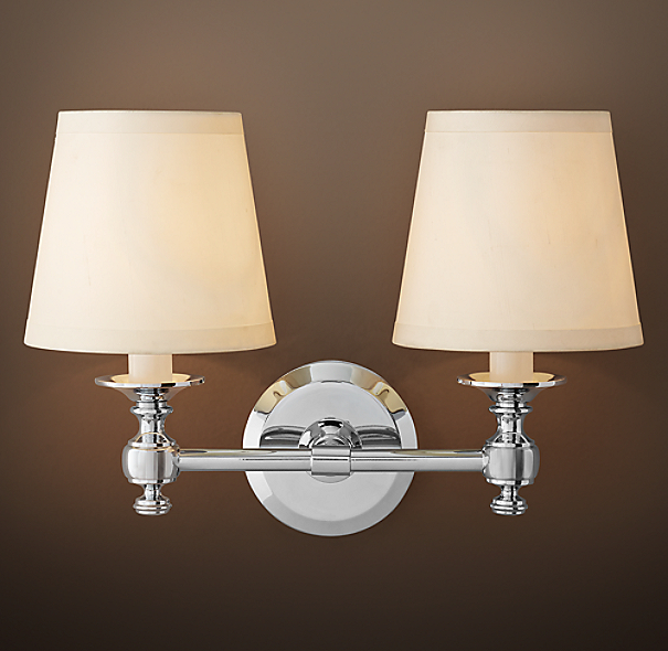 Lugarno Double Sconce