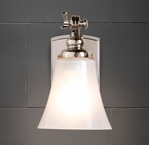 Bathroom Wall Sconces Restoration Hardware : Bistro Sconce